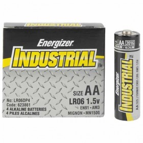 Energizer Industrial LR06 AA, doosje 4 stuks