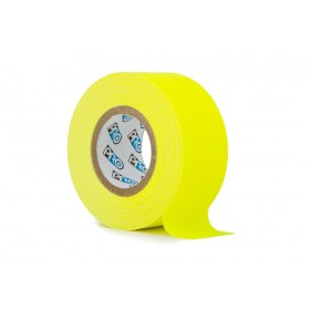 Pro paper tape mini rol 24mm x 9.2m neon geel