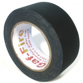 Gaf-Fire brandvertragende gaffa tape 48mm x 25m zwart