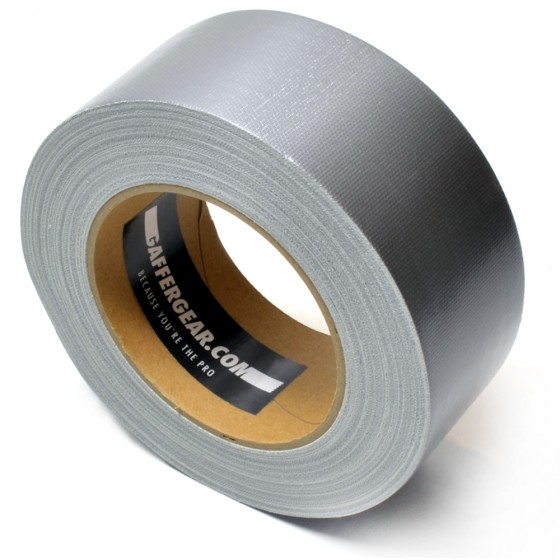 Gaffergear Gaffa tape 50mm x 25m grijs