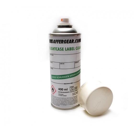 GafferGear Flightcase label cleaner
