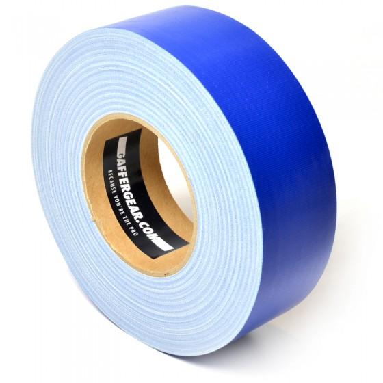 Gaffergear Gaffa tape 50mm x 50m blauw