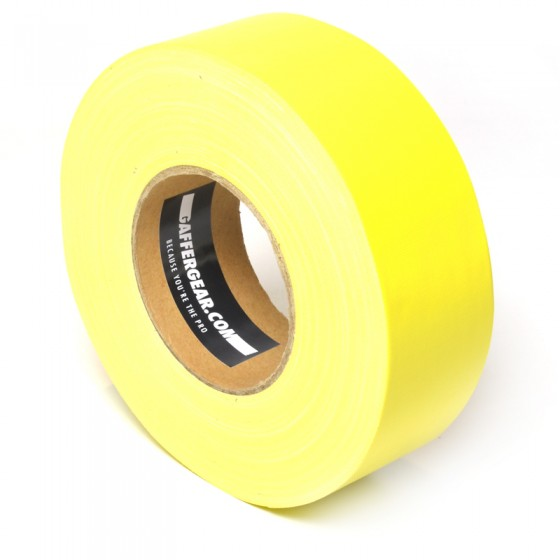 Gaffergear Gaffa tape 50mm x 50m geel