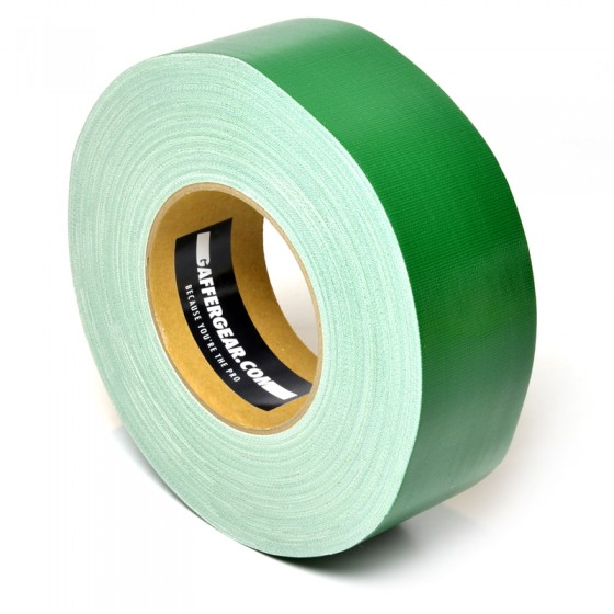 Gaffergear Gaffa tape 50mm x 50m groen