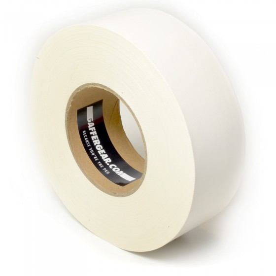 Gaffergear Gaffa tape 50mm x 50m wit
