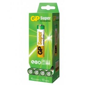 GP Super AAA, doosje 40 stuks