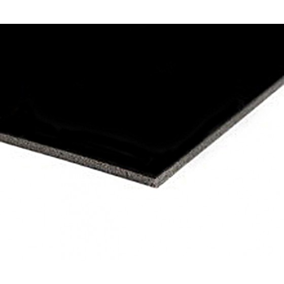 Harmony matt dansvloer 200cm x 25m mat zwart 1991