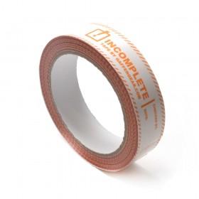 Gaffergear PVC Incomplete tape 25mm. x 66 mtr