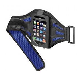 Sportbag voor iPhone zwart / blauw