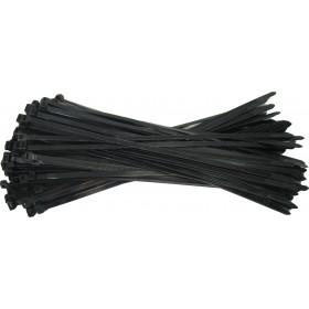 Kabelbinders 7,6 x 368 mm. zwart - zak 100 stuks