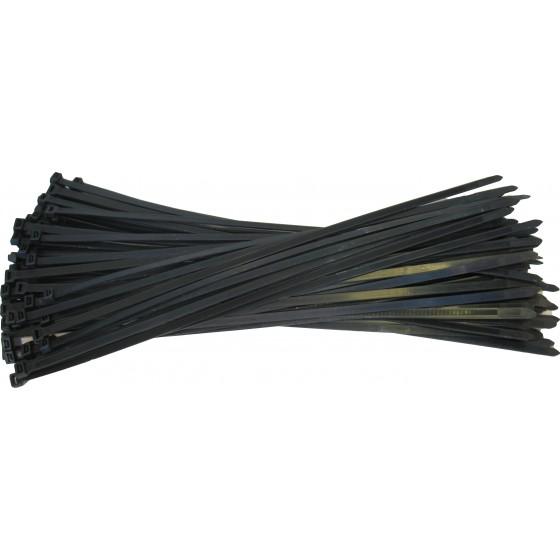 Kabelbinders 9,0 x 530 mm. zwart - zak 100 stuks
