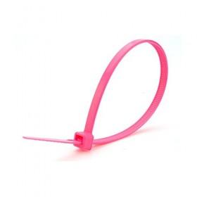 Kabelbinders 4,8 x 300 mm neon roze zak 100 stuks