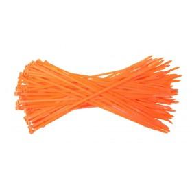 Kabelbinders 4,8 x 300 mm. oranje- zak 100 stuks
