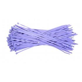 Kabelbinders 4,8 x 300 mm. paars- zak 100 stuks