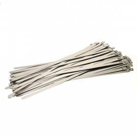 RVS Kabelbinders 12,7 x 500 mm - zak 100 stuks
