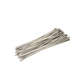 RVS Kabelbinders 4,6 x 300mm - zak 100 stuks