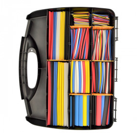 Krimpkous - 2:1 assortiment box 590 stuks - kleuren mix