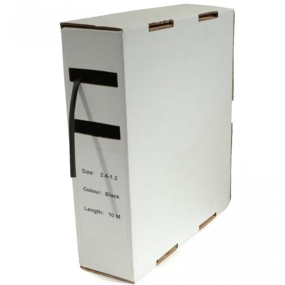 Krimpkous H-2 box 3.2 Ø / 1.6 Ø 10m zwart
