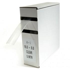 Krimpkous H-1 box 16.0 Ø / 8.0 Ø 5m transparant
