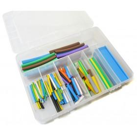 Krimpkous 2:1 assortiment box 127 stuks gekleurd