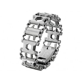 Leatherman tread armband zilver