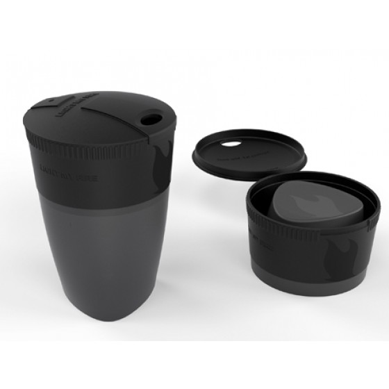 LMF Pack-up-Cup Black