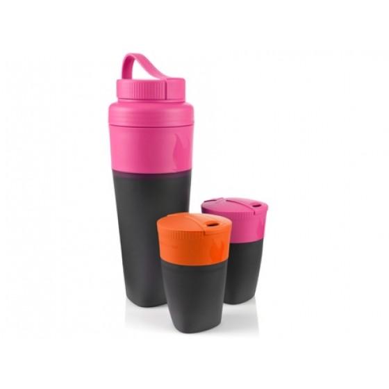 LMF Pack-up-Drink Kit Fuchsia/Orange