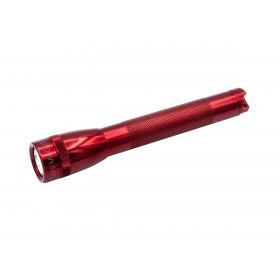 Maglite Mini AA LED Zaklamp in presentatie box rood