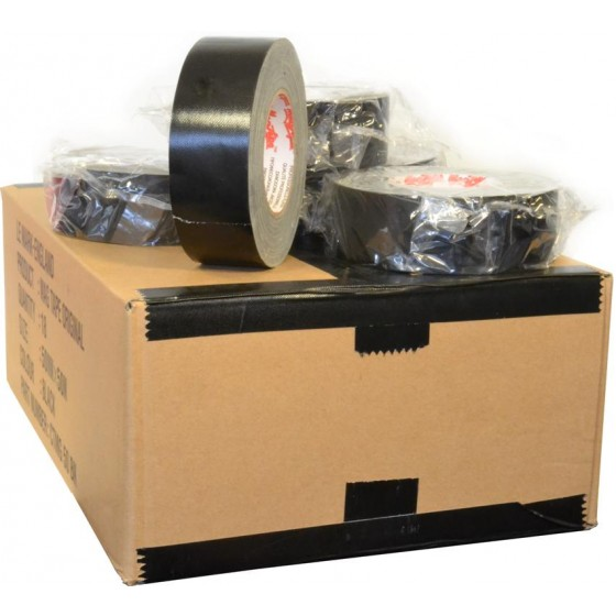MagTape gaffa Original 50mm x 50m zwart - doos 18 stuks