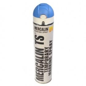 Mercalin TS tijdelijke markeringsverf - spuitbus 600ml blauw