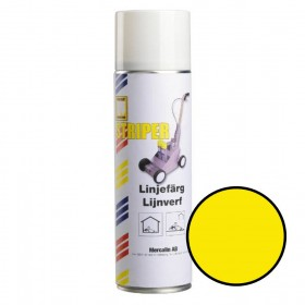 Mercalin Striper markeringsverf - spuitbus 500ml geel