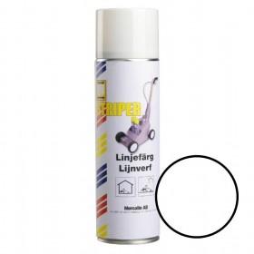 ercalin Striper markeringsverf - spuitbus 500ml wit