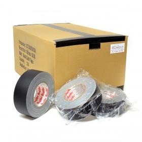MagTape gaffa Matt500 50mm x 50m zwart - doos 24 stuks