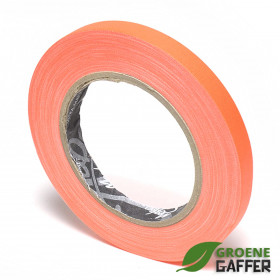 MagTape Ultra Matt Neon gaffa tape 12mm x 25m oranje