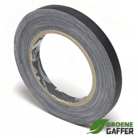 MagTape Ultra Matt gaffa tape 12mm x 25m zwart