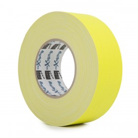 MagTape XTRA neon gaffa tape 50mm x 50m geel