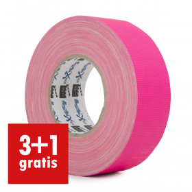 MagTape XTRA neon gaffa tape 50mm x 50m roze
