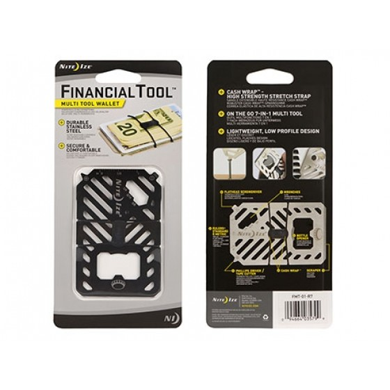 Nite Ize Financial Tool Black