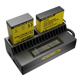 Nitecore UPG4 Camera battery charger voor de GoPro.