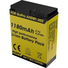Nitecore NLGP3 Camera batterij voor de GoPro Hero3/GoPro Hero3+