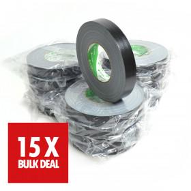 Nichiban tape 25mm x 50m zwart x 15 - 15 jaar aanbieding