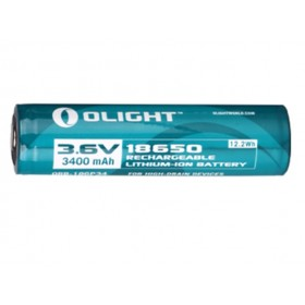Olight oplaadbare lithium 18650HP 3,6V batterij - 3400mAh