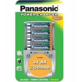 Panasonic Power Charger + 4 x AA 2100Ah