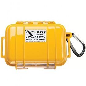 Peli Case 1010 Micro Zwart/Geel