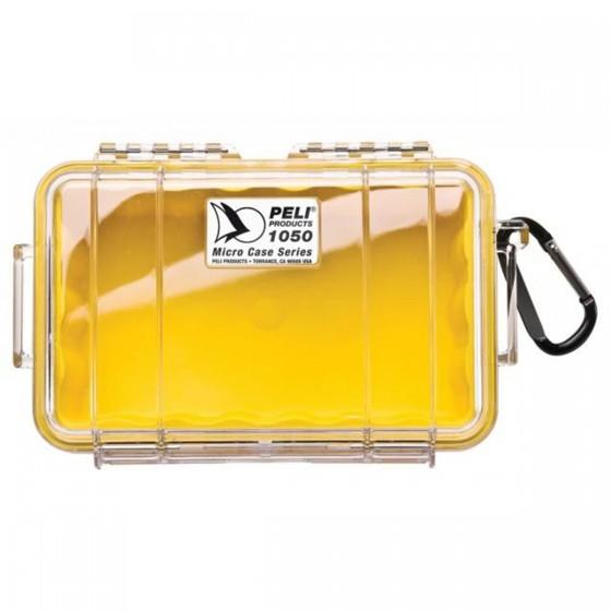 Peli Case 1050 Transparant / Geel