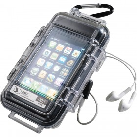 Peli Case i1015 iPhone Transparant / Zwart