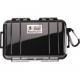 Peli Case 1040 Micro Zwart/Zwart