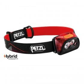 Petzl Actik Core hoofdlamp rood
