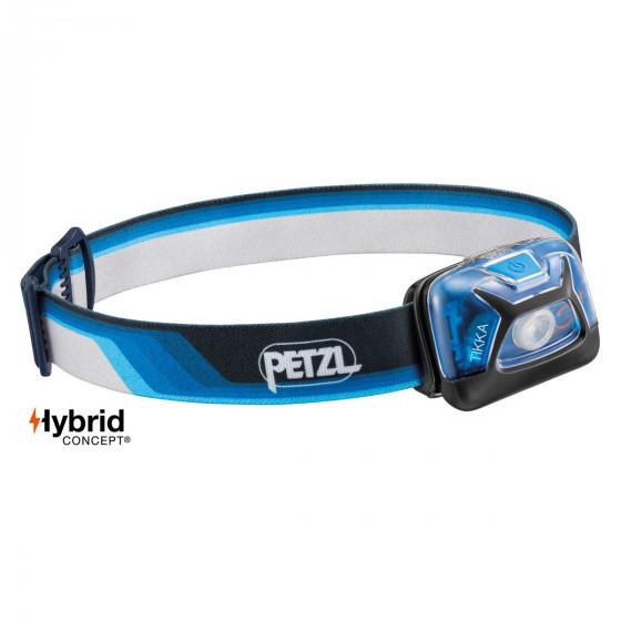 Petzl Tikka core - Blauw - Hoofdlamp - 300 lumen - zeikant