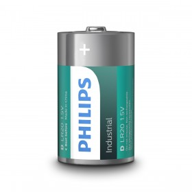 Philips Industrial D / LR20 batterij